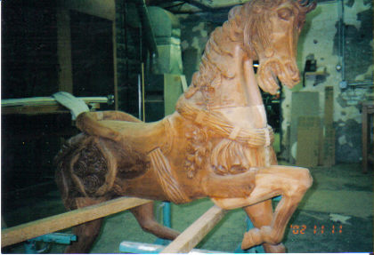 Before Mahogany Horse